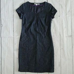 Boden size 2 chambray dress